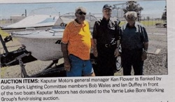 Help the bore cause for Yarrie Lake